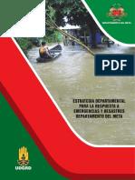 Plan de Emergencias y Contingencia departamento del Meta