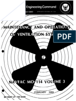 Maintenance and Operations of Ventilation Systems