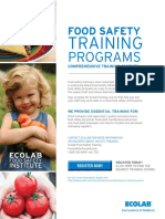 Ecolab Food Safety Institute
