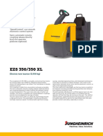 EZS 350 Data Sheet-Tow Tractor 5