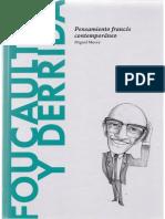 27. Morey, Miguel -  Foucault y Derrida. Pensamiento francés contemporáneo