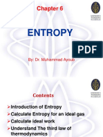 Chapter 6 Entropy