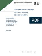 02 - Sociologia Industrial y Sociologia de Las Organizaciones - Teoria