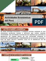 Actividades Económicas Del Peru