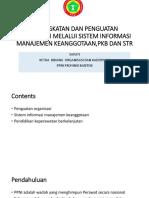 Peningkatan Dan Penguatan Organisasi Melalui Sistem Informasi Manajemen Dan Pkb