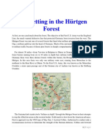 Mil Hist - WWII Bloodletting in the Hurtgen Forest