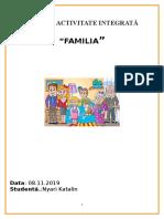 Familia Activitate Integrata