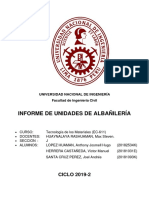 Informe N°5 (Albañilería)