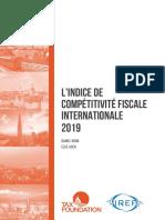 Indice de Competitivite Fiscale 2019