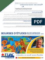 Migrant Workers Scholarships Brochure 2019 FR V1