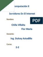 Servidores en El Internet