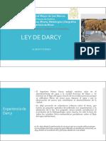 3. Ley de Darcy