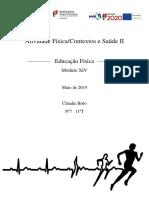 Atividade Física e Contextos e Saúde II