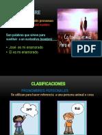 diapositiva pronombre