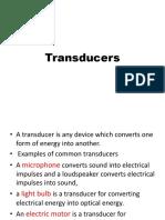 Transducers