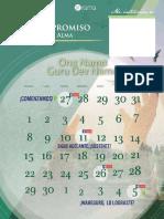 Calendario meditacion