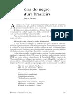 História do negro na literatura brasileira