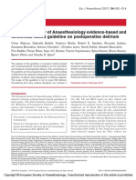 European Society of Anaesthesiology Evidence Based.3