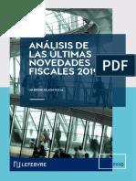 Analisis de Las Ultimas Novedades Fiscales 2019