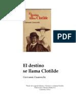 El Destino Se Llama Clotilde_Giovanni Guareschi