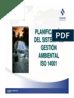 planificacion de sistema de gestion ambiental