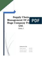 Jaipur Rugs Supply Chain