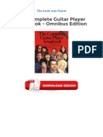 The Complete Guitar Player Songbook Omnibus Edition PDF