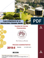 Plan estratégico de la Universidad Peruana Unión