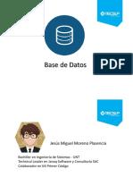 Base de Datos - Sesión Cero