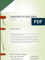 Presentation On False Ceiling.pptx