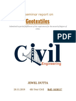 Report on Geotextiles