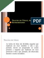 Trauma de Torax, Abdome e Extremidades