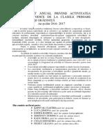 Raport Comisie Traditional an Școlar 2016- 2017 Ionita