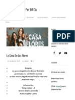 La Casa de Las Flores - Descarga Tu Serie Por MEGA (1)
