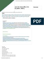 Refuerzo de los brazos de masa (M) y los brazos de alcance (R) {6501, 6501} Caterpillar.pdf