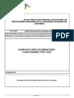 Examen Auxiliar Cantabria 2019