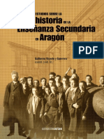 Estudios Sobre Historia De La Enseñanza Secundaria en Aragón._ebook