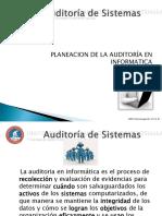 Clase_No.2_Planeacion de La Auditoria Informatica