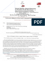 MACS000000104-R218254-58 Universal Affidavit of Fact and Command for Savings & Trust Account [Citigroup]