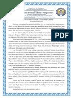 Dapc Week 2019 Report-znhs