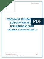 Manual de Explotación de las Depuradoras Edar
