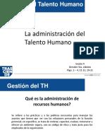 2. Administracion de Talento Humano