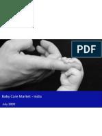 Baby Care Market India