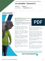 Evaluación Actividad de puntos evaluables - Escenario 6