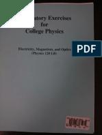 Hunter Physics 121 Lab Manual