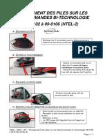 V232 - 5000 - AA - Changement des piles sur les télécommandes bi-technologie 09-0102 à 09-0106 (HTEL-2)