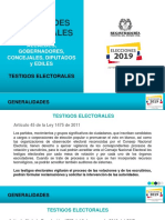 Presentacion Testigos Electorales 2019