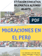 Migraciones en El Perú Manuel