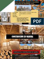 Construcción en Madera - Proyecto