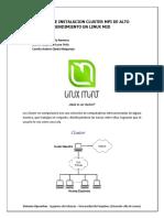 Manual de Instalacion Cluster Mpi de Alto Rendimiento en Linux Mid